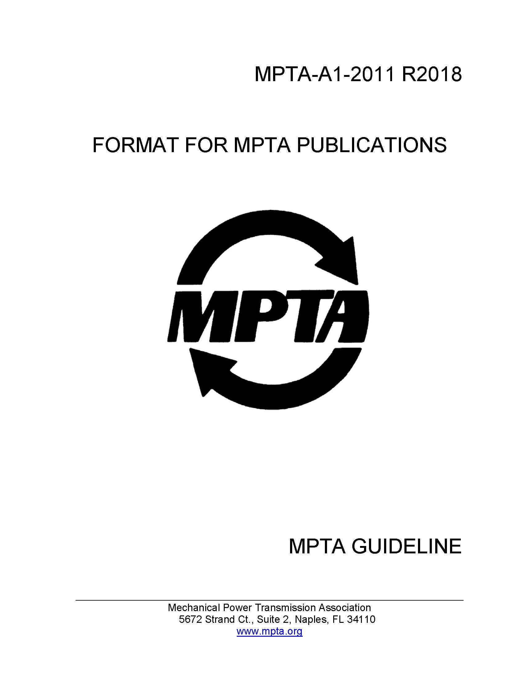 Standards | Mechanical Power Transmission Association